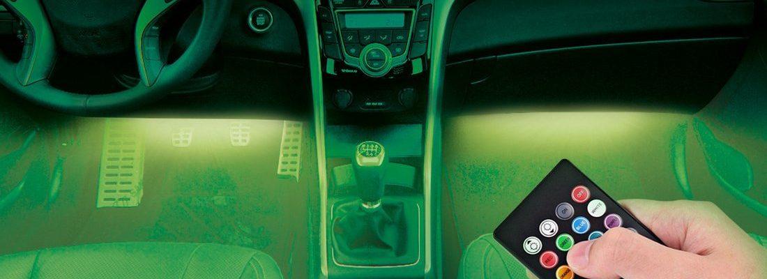 BrightNWay Car Interior Lights - Underdash Decoration Lighting